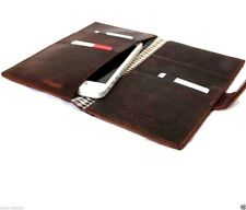 genuine italy leather Case for apple iphone 6 book wallet handmade slim cover IL