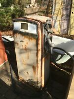 Vintage Mid Century Gas Boy  Service Station Garage Gas Pump