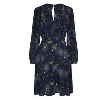 Whistles - Ebony Galaxy Dress - Flippy - New With Tag - Size 10 - Women's Dress