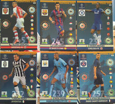 PANINI ADRENALYN CHAMPIONS LEAGUE 2014 2015 INTERNATIONAL STAR FULL SET 6 CARDS