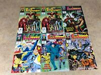 KNIGHTS OF PENDRAGON #1,1,2,3,4,5 LOT OF 6 COMIC NM 1992 MARVEL
