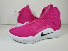 Nike Hyperdunk X TB Promo 2018 Pink Cancer Awareness AT3866-609 Men's Size 5.5
