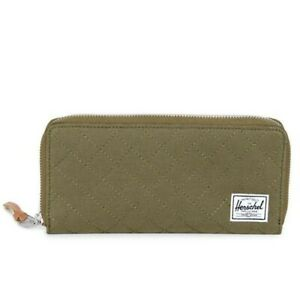 Herschel Supply co. Women's Avenue Wallet Quilted Classics Army Green
