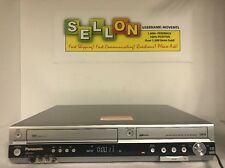 Panasonic DMR-ES35V DVD Recorder / VCR Player Recorder Dual Dub For Repair! Read