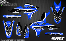 YZF 250 450 motocross graphics kit 2014 2015 YZ450F MX decals kit YZ250F YAMAHA