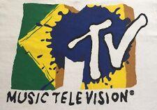 *** RARE *** Never Worn Authentic Vintage MTV Brazil Tshirt 1990's Size XXL