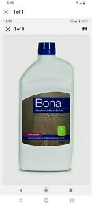 3 pack Bona  High Gloss  Hardwood Floor Polish  Liquid  36 oz.
