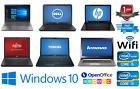 Cheap Fast Intel Core Core2 Duo I3 I5 I7 Laptop Windows 10 8gb Ram Hdd/ssd Wifi