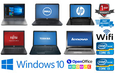 CHEAP FAST INTEL CORE Core2 Duo i3 i5 i7 LAPTOP WINDOWS 10 8GB RAM HDD/SSD WiFi