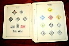 CatalinaStamps:  Worldwide Stamp Collection on Album Pages, 1758 Stamps, #D341