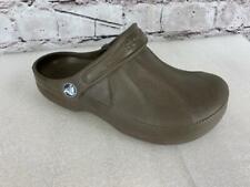Crocs 6 4 Unisex Shoes Clogs Enclosed Brown W6 M4