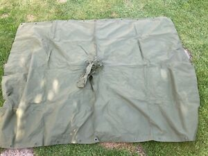 GENUINE BRITISH ARMY ISSUED 58 PATTERN PONCHO / FIELD SHELTER