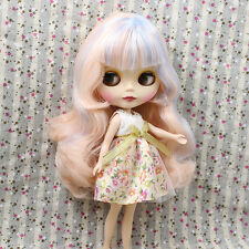 """Takara 12"""" Nude Blythe Doll from Factory matte face long mix hair new sale 2016"""
