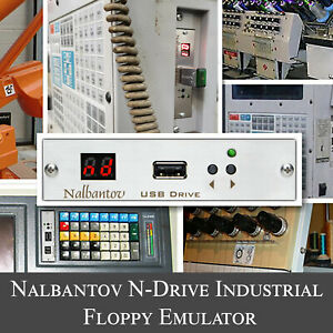 Nalbantov USB Floppy Emulator N-Drive Industrial for AGIE 100D Wire EDM Machine