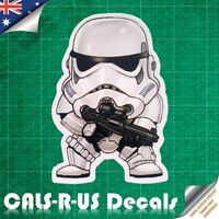 Star Wars Stormtrooper Storm Trooper Luggage Sticker Skateboard Guitar Car L5