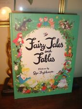 RARE COVER Gyo Fujikawa Fairy Tales and Fables - 1970 Hardcover - Near Mint!