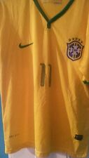 Brazil Home Shirt ( 2014/2016* OSCAR 11) large men's (new without tags)