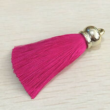 Handmade Jewelry For Making Mob Straps Keychain Gold Plating Bell Silk Tassel