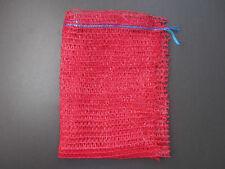 5 x Net Woven Sacks Vegetables Logs Kindling Wood Log Mesh Bags 35x50 cm 15 kg