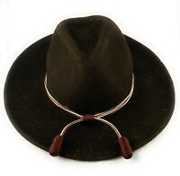 🌟US Army Medical Department Maroon White Acorn Stetson Hat Band, Campaign Cord