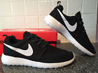 Womens Nike Rosherun Black White Roshe Run Lifestyle Casual Shoes Sneakers