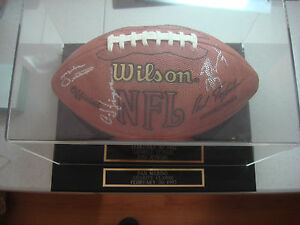 Autographed Official NFL Football with 16 signatures (7 Hall of Famers) JSA LOA