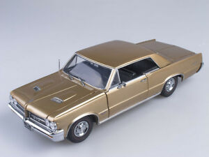 Scale model 1/18 1964 Pontiac GTO (Saddle Bronz)