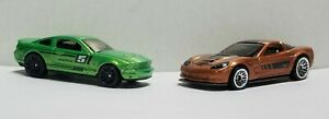 *** 2019 Hot Wheels 9 Pack Exclusives * Ford Mustang & '09 Corvette ***