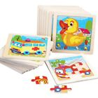 Kids+Wooden+Puzzle+Cartoon+Animal+Educational+Jigsaw+Mental+Toys+Children+Gifts