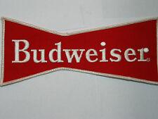 """Budweiser Jacket Patch, Vintage Large 9""""  (#1Lg)"""