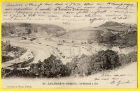 cpa Dos 1900 Bretagne SAINT BRIEUC (Côtes d'Armor) Le LÉGUÉ Port BASSIN à FLOT