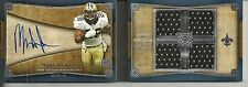 2011 Topps Five Star - MARK INGRAM - Autograph Quad Game Jersey Rookie Book /35