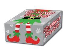 Festive ELF Design scatola di cartone Vigilia di Natale | carta da regalo forniture