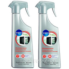 2 x Hotpoint Microwave Oven Cleaner Spray Degreaser Cleanser Inside & Out 500ml
