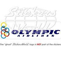 OLYMPIC AIRLINES Fluggesellschaft Griechenland 200mm Aufkleber Vinyl Sticker