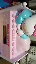 Hello Kitty Dual Alarm Clock Radio Night Light Digital Tuning Led Nice