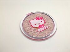 Hello Kitty Compact Pocket Round Mirror Cosmetic Makeup Kids Child Pink Travel