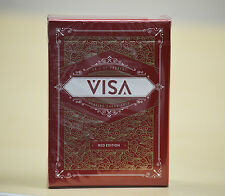 Visa Red Edition Playing Cards Deck Brand New Sealed