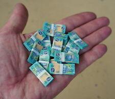 1/6 Scale Miniature Play Money Australian Banknotes $100