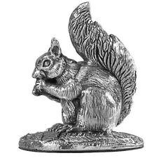 More details for hallmarked sterling silver squirrel model