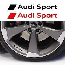 adesivi AUDI SPORT cerchi specchietti auto stickers A3 A4 A5 A6 Q3 Q5 TT Sline