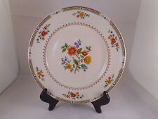 Salad Plate Royal Doulton China, Kingswood Pattern (TC1115), Red Blue Flowers