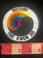 Wow, A RAINBOW Yin & Yang VICTORY TAE KWON DO Martial Arts Patch 01RN