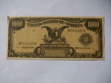 Werbe Schein 1000 Dollar 1910, Reklame Amerika Chemnitz Schuh Herrmann Sachsen