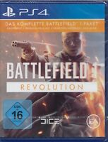 Battlefield 1 Revolution Edition- PlayStation 4 PS4 - Neu & OVP Deutsche Version