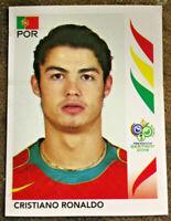 WM World Cup 2006 Rookie 1 Sticker Cristiano Ronaldo  Portugal Rare Neu