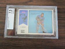 1974-75 O-Pee-Chee WHA #50 Bobby Hull Card Beckett 7.5 Nm-Mt+ Winnipeg Jets