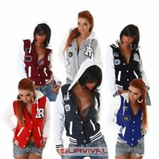Cotton/Polyester Hood Regular Size Coats & Jackets for Women
