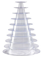 10 Tier Macaron Tower Display Stand for French Macarons