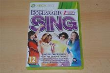 Everyone Sing Xbox 360 UK PAL **FREE UK POSTAGE**